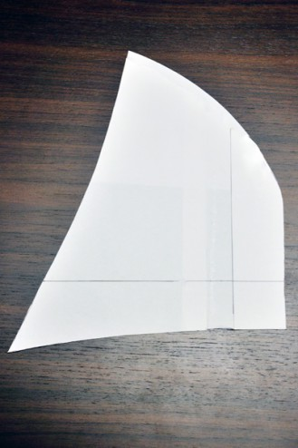 フード型紙